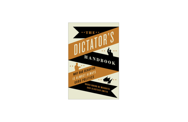 B. de Mesquita and Smith: The Dictator's Handbook